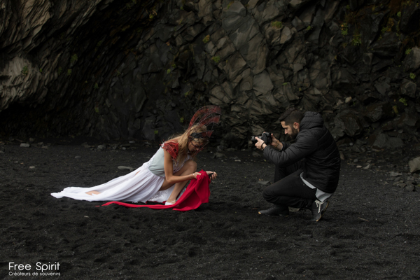 projet The Essence of Life créé par Free Spirit project - en Islande - campagne de sensibilisation sur le réchauffement climatique et la fonte des glaciers